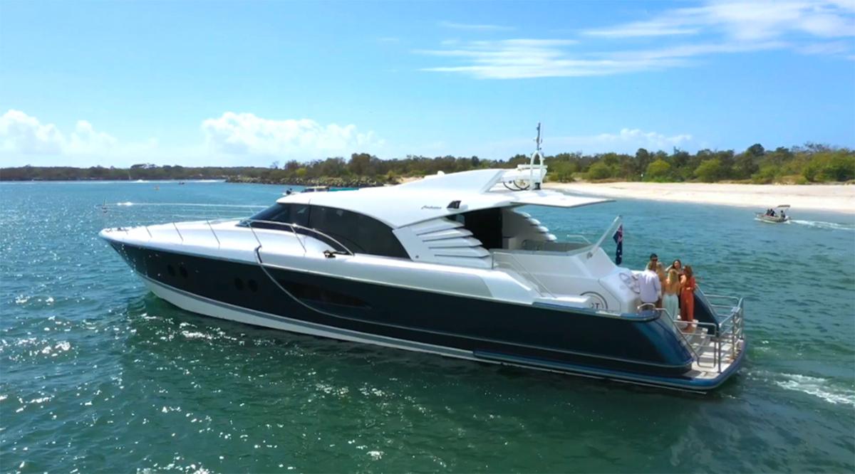 Yot Blue Boat Hire Gold Coast