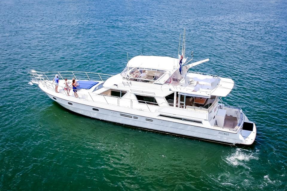 MV Bacchus Boat Hire Gold Coast